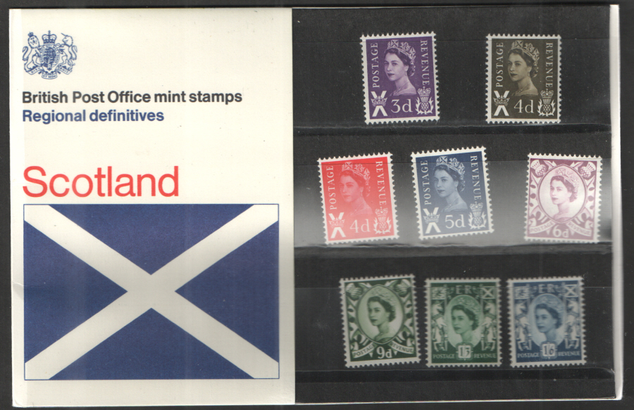 1970 Scotland Definitive Royal Mail Presentation Pack 23